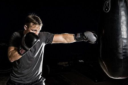 benefits of training with the punching bag